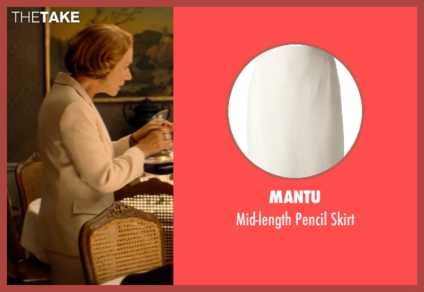 Mantu beige skirt from The Hundred-Foot Journey seen with Helen Mirren (Madame Mallory)
