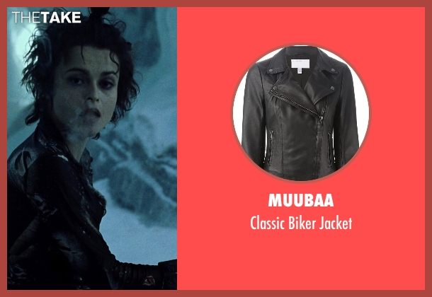 Muubaa black jacket from Fight Club seen with Helena Bonham Carter (Marla Singer)