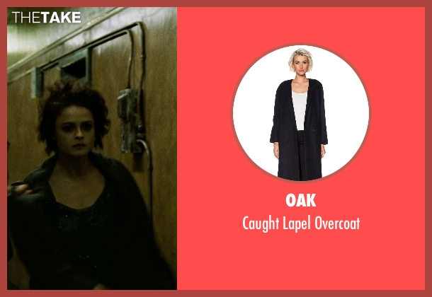 Oak black overcoat from Fight Club seen with Helena Bonham Carter (Marla Singer)