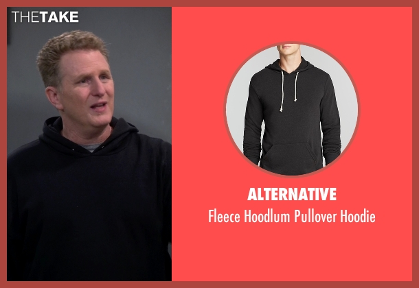 Alternative black hoodie from The Big Bang Theory seen with Helium Guy (Michael Rapaport)