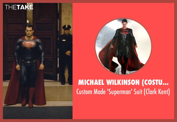 Michael Wilkinson (Costume Designer) suit from Batman v Superman: Dawn of Justice seen with Henry Cavill (Clark Kent / Superman)