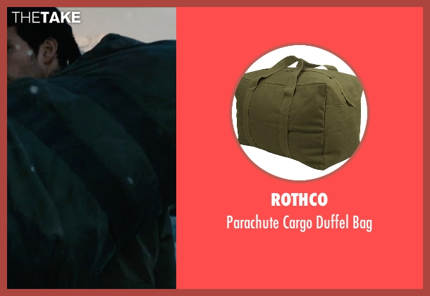 Rothco bag from Man of Steel seen with Henry Cavill (Clark Kent / Superman)