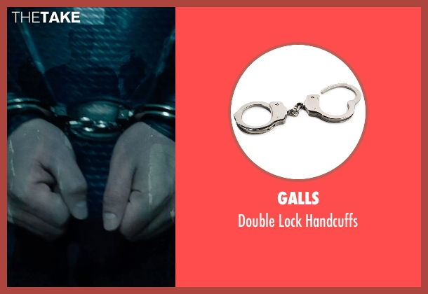 Galls handcuffs from Man of Steel seen with Henry Cavill (Clark Kent / Superman)