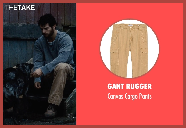 Gant Rugger pants from Man of Steel seen with Henry Cavill (Clark Kent / Superman)