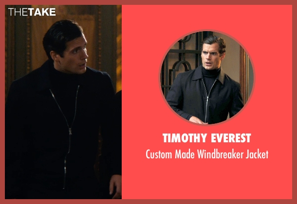 Timothy Everest black jacket from The Man from U.N.C.L.E. seen with Henry Cavill (Napoleon Solo)