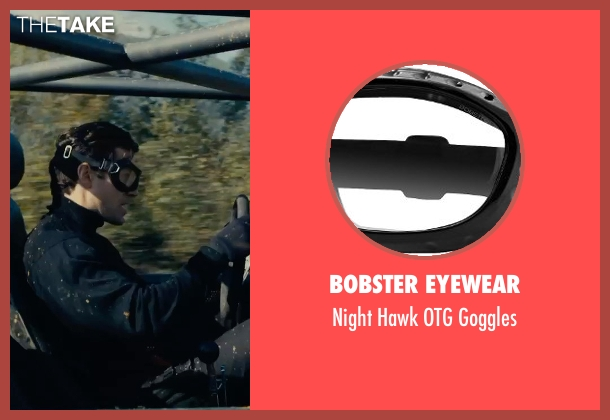 Bobster Eyewear goggles from The Man from U.N.C.L.E. seen with Henry Cavill (Napoleon Solo)