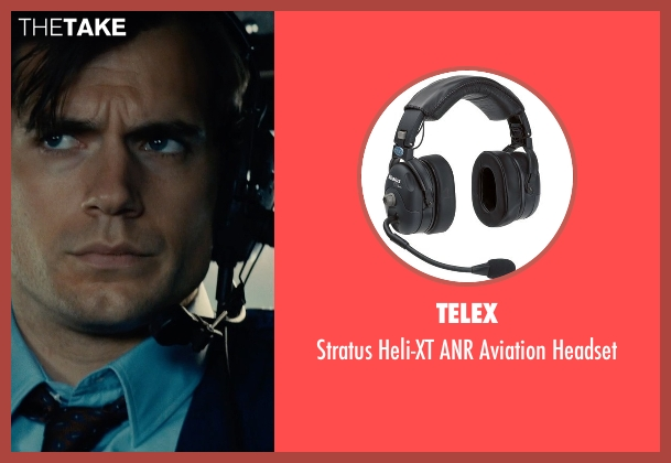 Telex headset from The Man from U.N.C.L.E. seen with Henry Cavill (Napoleon Solo)