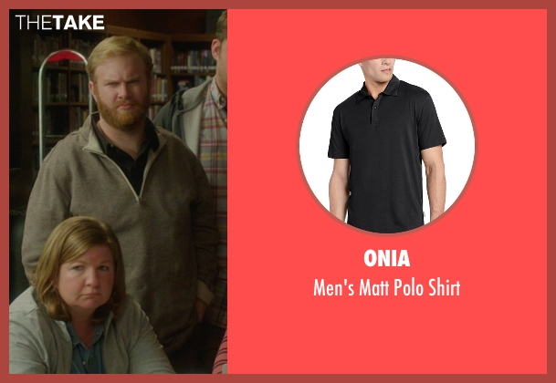Onia black shirt from The D Train seen with Henry Zebrowski (Craig)