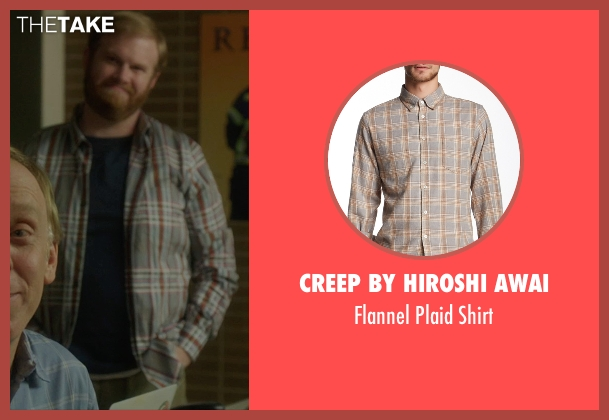Creep by Hiroshi Awai gray shirt from The D Train seen with Henry Zebrowski (Craig)