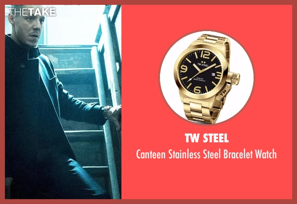 TW Steel gold watch from Marvel's Luke Cage seen with Hernan 'Shades' Alvarez (Theo Rossi)