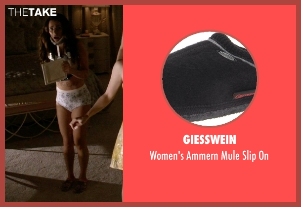 Giesswein black on from Scream Queens seen with Hester (Lea Michele)