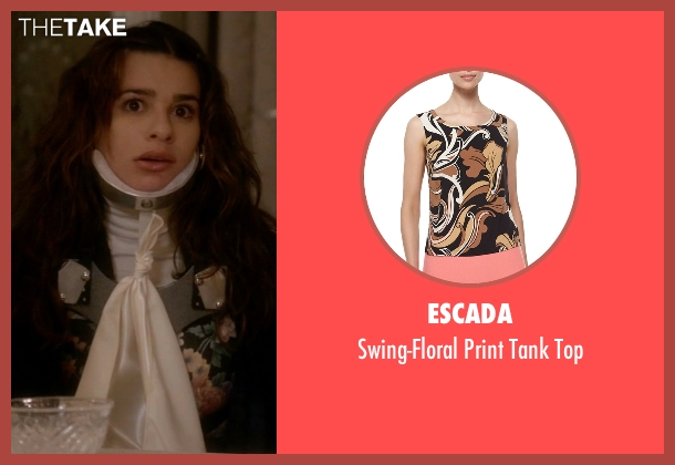 Escada black top from Scream Queens seen with Hester (Lea Michele)