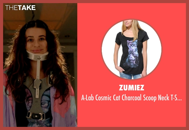 Zumiez black t-shirt from Scream Queens seen with Hester Ulrich (Lea Michele)