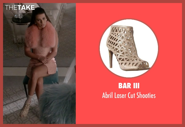 Bar III shooties from Scream Queens seen with Hester Ulrich (Lea Michele)