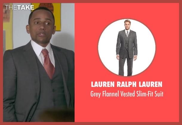Lauren Ralph Lauren gray suit from The Boy Next Door seen with Hill Harper (Principal)