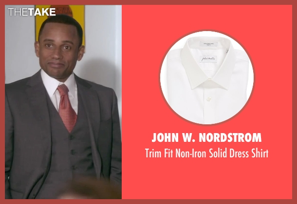 John W. Nordstrom white shirt from The Boy Next Door seen with Hill Harper (Principal)