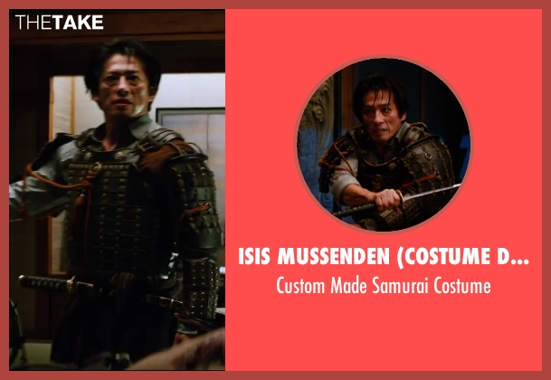 Isis Mussenden (Costume Designer) costume from The Wolverine seen with Hiroyuki Sanada (Shingen)