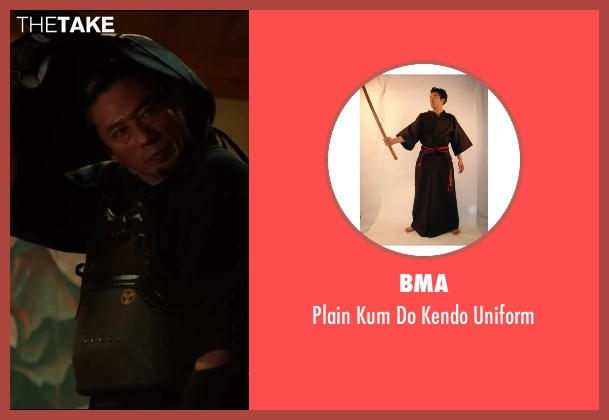 BMA uniform from The Wolverine seen with Hiroyuki Sanada (Shingen)