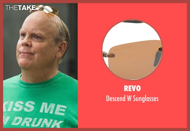 Revo brown sunglasses from Brooklyn Nine-Nine seen with Hitchcock (Dirk Blocker)