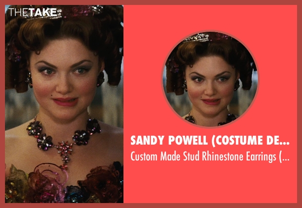 Sandy Powell (Costume Designer) earrings from Cinderella seen with Holliday Grainger (Anastasia)