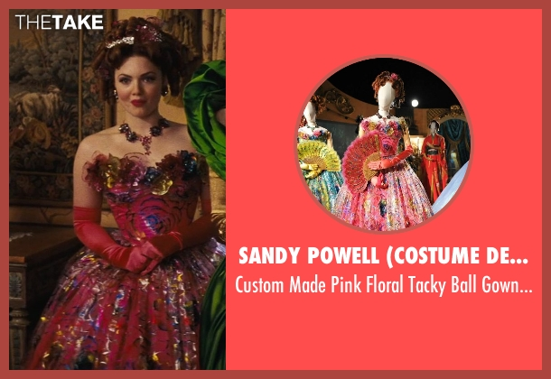 Sandy Powell (Costume Designer) gown from Cinderella seen with Holliday Grainger (Anastasia)
