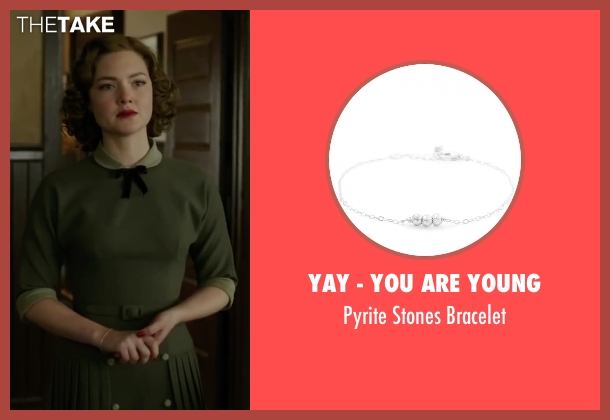 Yay - You Are Young silver bracelet from The Finest Hours seen with Holliday Grainger (Miriam)