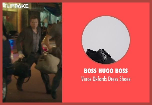 Boss Hugo Boss black shoes from Blackhat seen with Holt McCallany (Unknown Character)