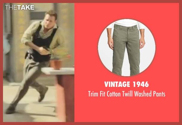 Vintage 1946 green pants from Blackhat seen with Holt McCallany (Unknown Character)