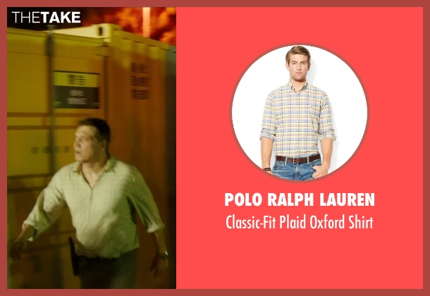 Polo Ralph Lauren yellow shirt from Blackhat seen with Holt McCallany (Unknown Character)