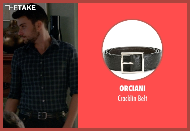 Orciani black belt from How To Get Away With Murder seen with Jack Falahee