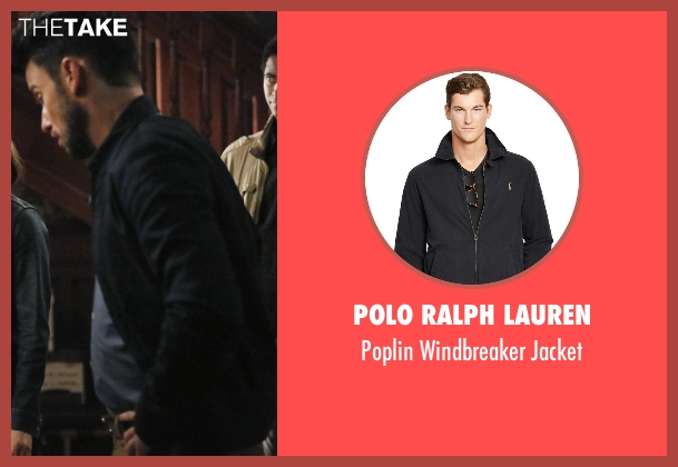 Polo Ralph Lauren black jacket from How To Get Away With Murder seen with Jack Falahee