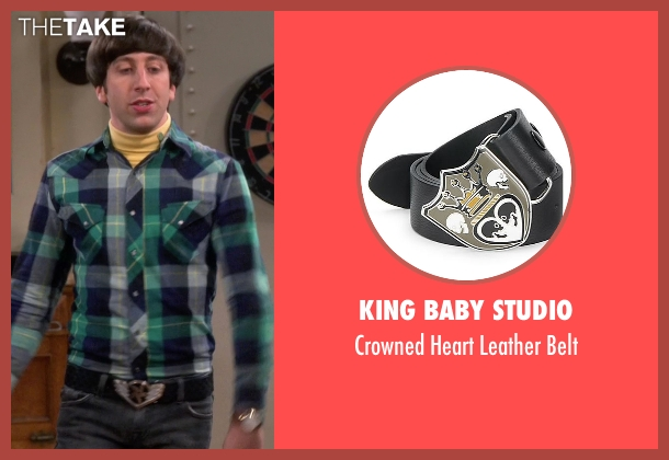 King Baby Studio black belt from The Big Bang Theory seen with Howard Wolowitz (Simon Helberg)