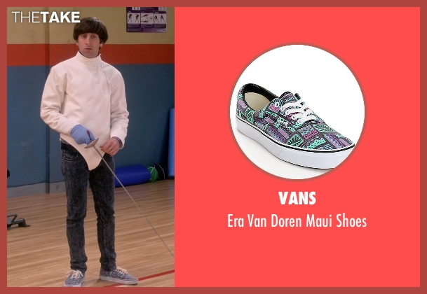 Vans black shoes from The Big Bang Theory seen with Howard Wolowitz (Simon Helberg)