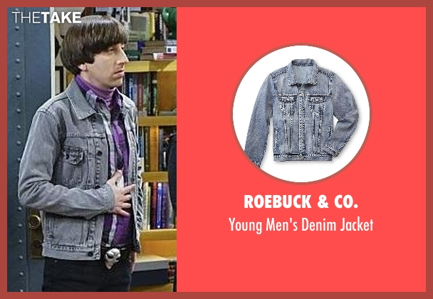 Roebuck & Co. blue jacket from The Big Bang Theory seen with Howard Wolowitz (Simon Helberg)