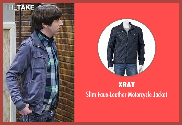 XRay blue jacket from The Big Bang Theory seen with Howard Wolowitz (Simon Helberg)