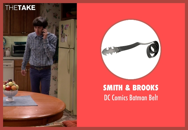 Smith & Brooks brown belt from The Big Bang Theory seen with Howard Wolowitz (Simon Helberg)