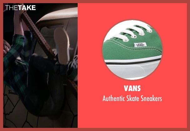 Vans green sneakers from The Big Bang Theory seen with Howard Wolowitz (Simon Helberg)