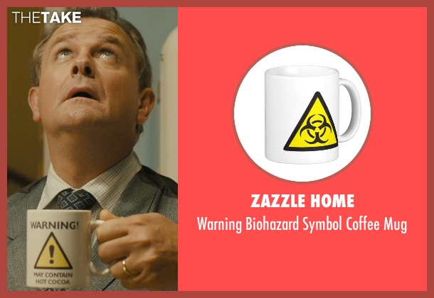 Zazzle Home mug from Paddington seen with Hugh Bonneville (Mr. Brown)