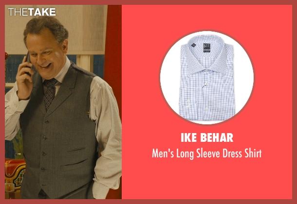 Ike Behar white shirt from Paddington seen with Hugh Bonneville (Mr. Brown)
