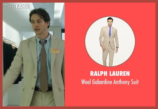 Ralph Lauren beige suit from Confessions of a Shopaholic seen with Hugh Dancy (Luke Brandon)