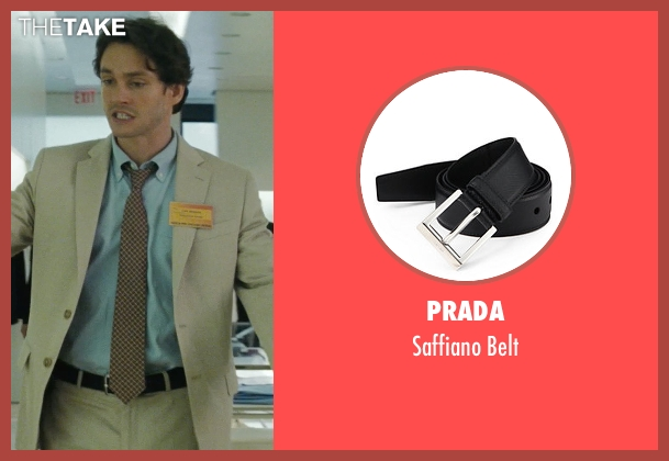 Prada black belt from Confessions of a Shopaholic seen with Hugh Dancy (Luke Brandon)
