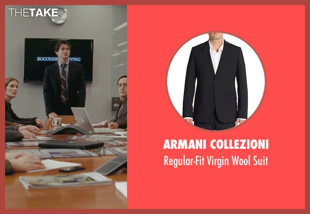 Armani Collezioni black suit from Confessions of a Shopaholic seen with Hugh Dancy (Luke Brandon)