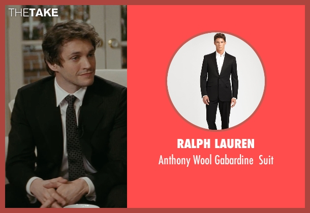 Ralph Lauren black suit from Confessions of a Shopaholic seen with Hugh Dancy (Luke Brandon)