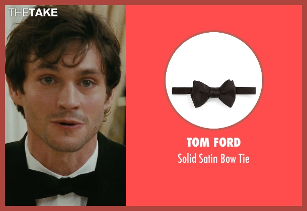 Tom Ford black tie from Confessions of a Shopaholic seen with Hugh Dancy (Luke Brandon)