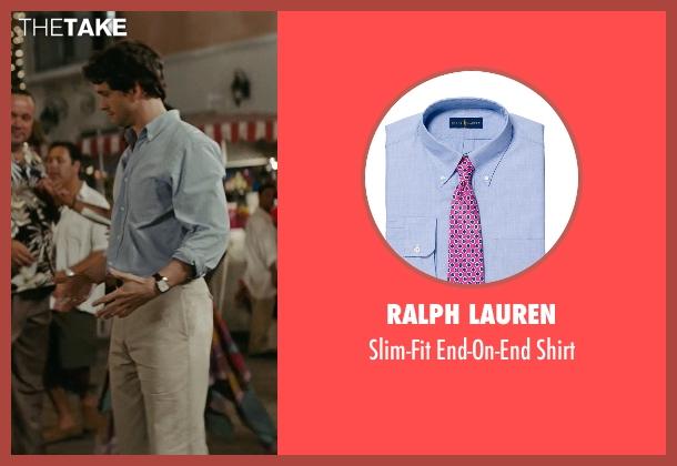 Ralph Lauren blue shirt from Confessions of a Shopaholic seen with Hugh Dancy (Luke Brandon)