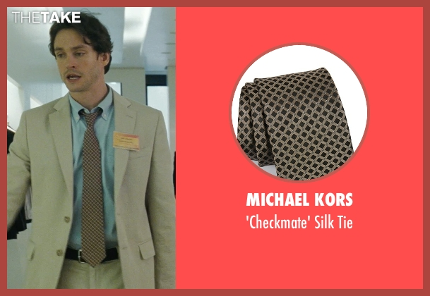 Michael Kors brown tie from Confessions of a Shopaholic seen with Hugh Dancy (Luke Brandon)