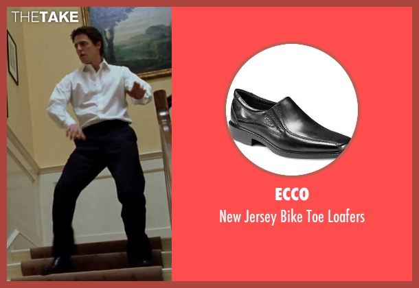 Ecco black loafers from Love Actually seen with Hugh Grant (The Prime Minister)