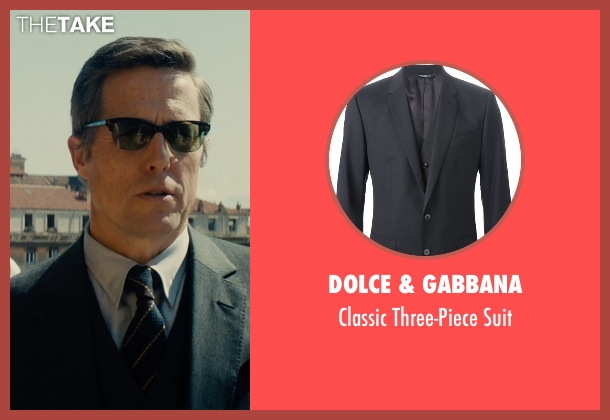 Dolce & Gabbana blue suit from The Man from U.N.C.L.E. seen with Hugh Grant (Waverly)