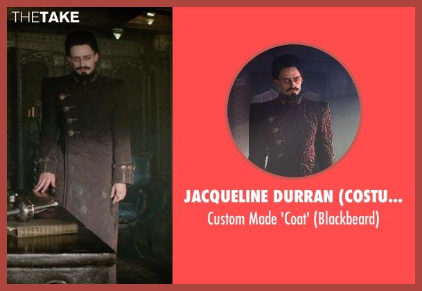 Jacqueline Durran (Costume Designer) 'coat' from Pan seen with Hugh Jackman (Blackbeard)