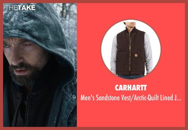 Carhartt brown jacket from Prisoners seen with Hugh Jackman (Keller Dover)